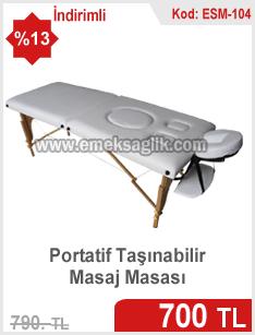 Ev tipi portatif masaj masası