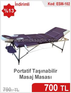 Portatif masaj masası